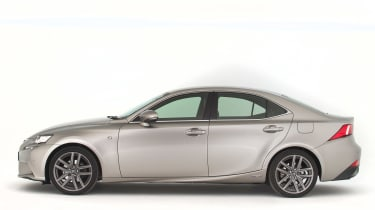 Used Lexus IS - side