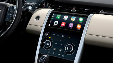 Land Rover Discovery Sport - Apple CarPlay