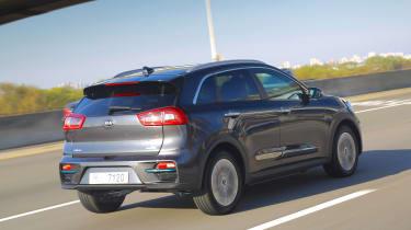 Kia e-Niro - rear action