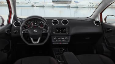 SEAT Ibiza 2015 facelift - dashboard