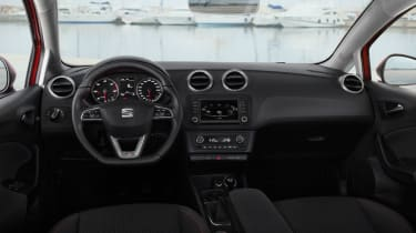 SEAT Ibiza 2015 facelift - dashboard
