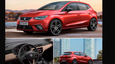 SEAT Ibiza 2017 - leaked pictures