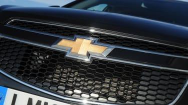 Chevrolet Cruze grille detail
