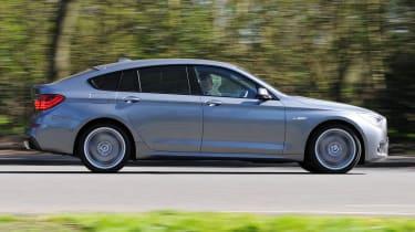 BMW 5 Series GT panning
