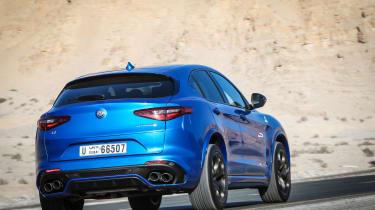 Alfa Romeo Stelvio Quadrifoglio  - rear