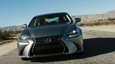 Lexus GS 2016 facelift - head on