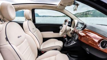 Fiat 500 Riva - interior 4