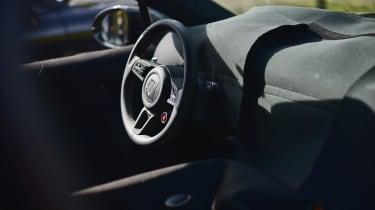 Porsche Cayenne Coupe prototype - dash