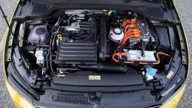 Volkswagen Golf eHybrid powertrain
