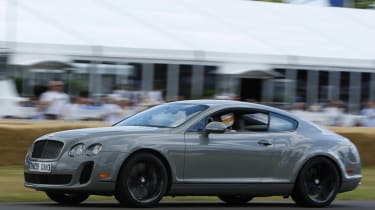 Bentley Continental Supersports coupe profile
