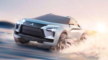 Mitsubishi e-Evolution concept - off-road