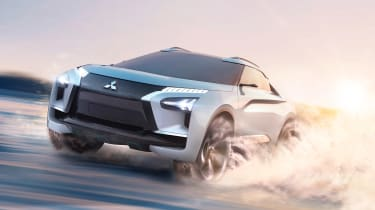 Mitsubishi e-Evolution concept - off-road