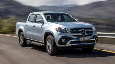 Mercedes X-Class - front cornering