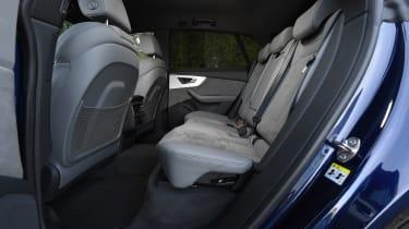 Audi Q8 - rear seats