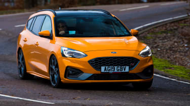 Ford Focus ST Estate: long-term test review - first report - front cornering