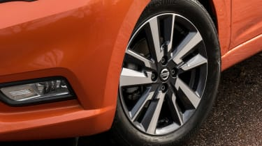 New Nissan Micra - wheel detail