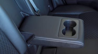 Nissan Note cupholders