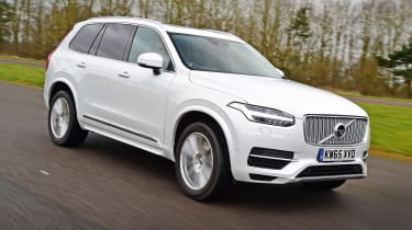 Volvo XC90 - best low emissions green cars