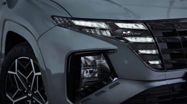 Hyundai Tuscon N Line - lights