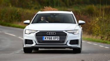 Audi A6 Avant - front action