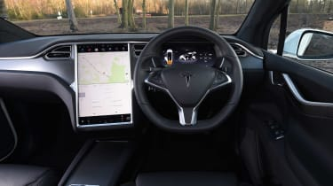 Used Tesla Model X - dash