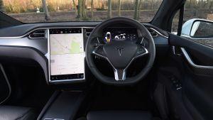 Used Tesla Model X - dash