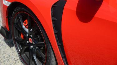 UK Honda Civic Type R 2017 - vent