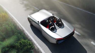 Aura concept car - top