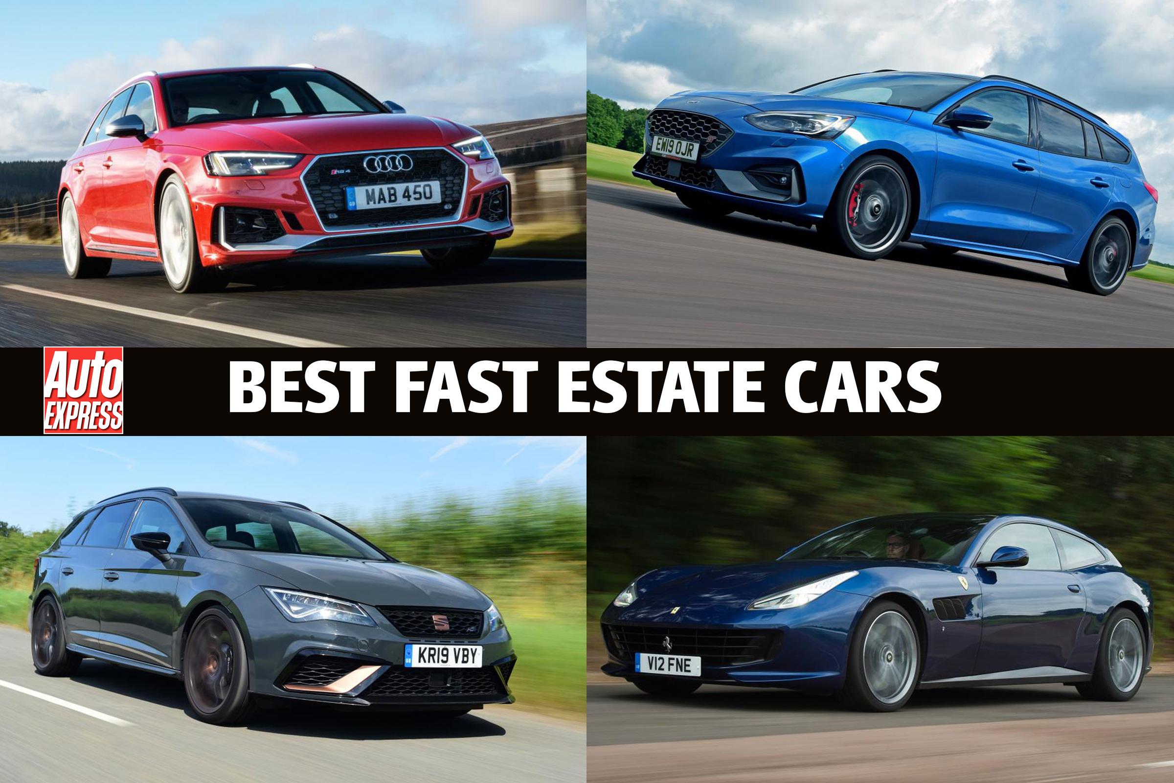 Best Fast Estate Cars 2020 Auto Express