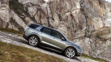 Land Rover Discovery Sport side