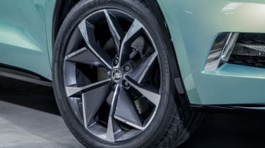 Skoda VisionS concept - wheel