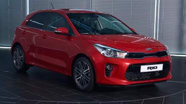 New Kia Rio - reveal event front quarter