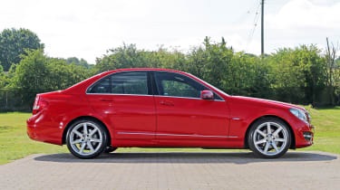 Used Mercedes C-Class - side