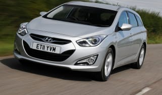 Hyundai i40 BlueDrive front tracking