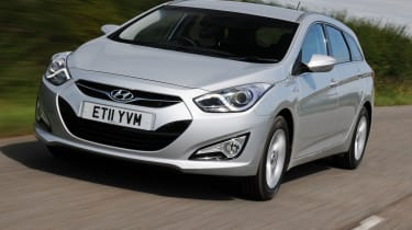 Hyundai i40 BlueDrive front tracking