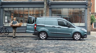 New Ford Transit Connect and Courier - side