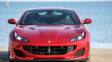 Ferrari Portofino - full front static roof closed