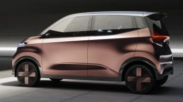 Nissan IMk concept - side static