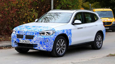 BMW iX3 - spied front