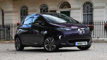 Renault ZOE R110 - front static