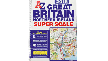 AZ Great Britain and Northern Ireland road map