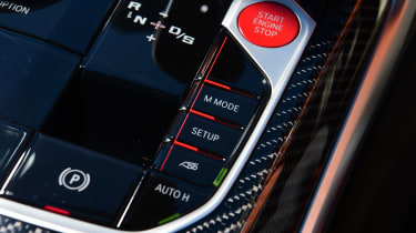 BMW M4 Competition - drive mode