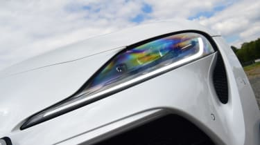 Toyota Supra - head lights