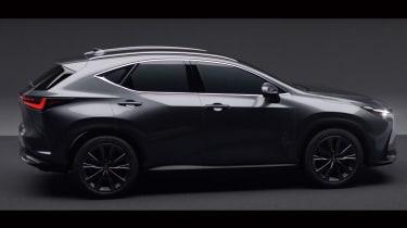 New Lexus NX leaked side