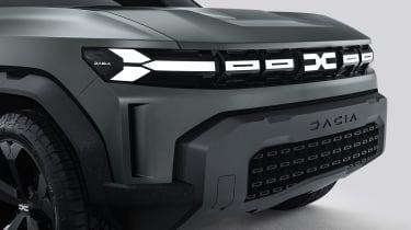 Dacia Bigster - grille