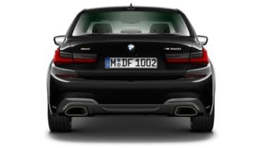 Leaked BMW 3 Series - full rear black