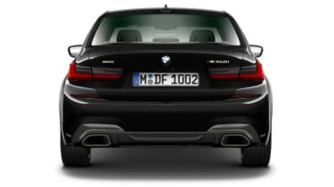 Leaked BMW 3 Series - full rear black
