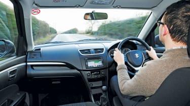 Suzuki Swift long-termer - interior
