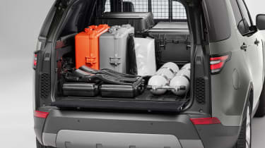 Land Rover Discovery Commercial load area