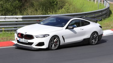 BMW M8 CS - front